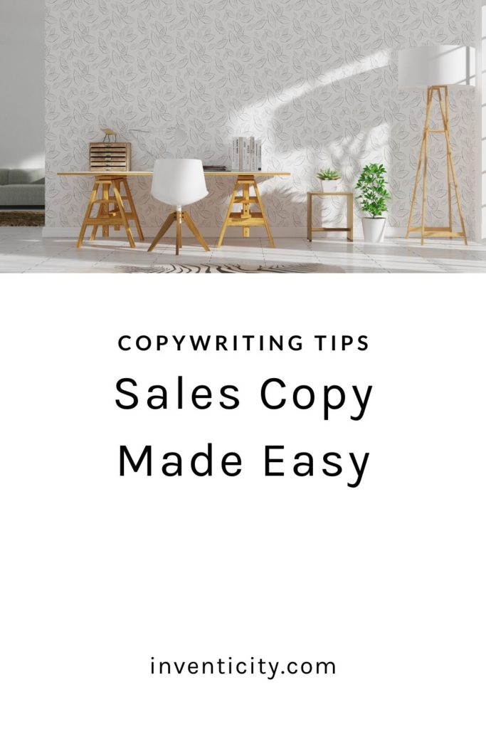 Sales copy Made Easy Copywriting Tips