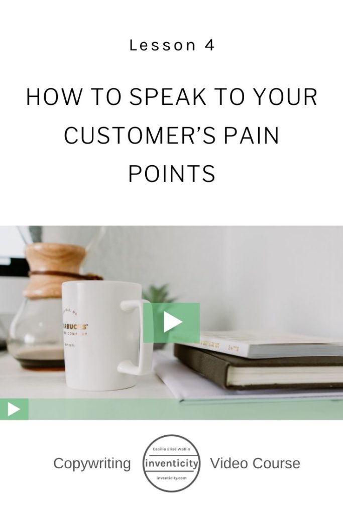 Customer's Pain Points